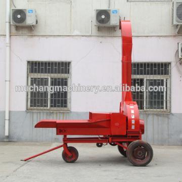 Animal feed straw chopping machine