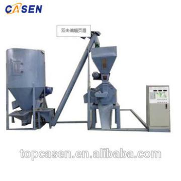 2 ton whole process equipment animal feed plant machinery at animal feeding industry
