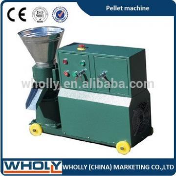 CE/ ISO/ SGS flat die farm feed machine animal feed pellet press machine for sale