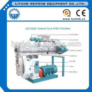 3TPH ANIMAL FEED MACHINE SZLH320 WITH CE ISO SGS FOR SALE