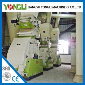 YONGLI animal chicken feed pellet press machine