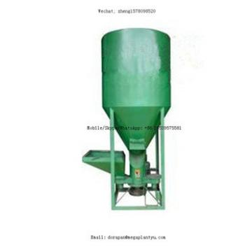 Industrial poultry animal feed machinery for crusher and mixer