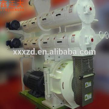 Factory sale qualified automatic ring die animal feed pellet cattle feed making machine