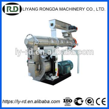 CE/GOST SZLH 320 gear drive roller pressing pet food pellet machine in Changzhou