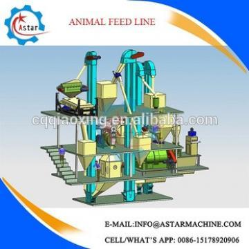 Capacity 6-8t/h animal feed pellet machine price