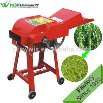 Grass ensilage chopper straw cutting animal livestock feed machine