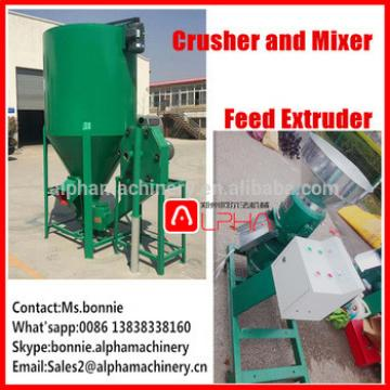 Hot selling chicken feed granulator animal cattle feed granule yellow corn extruder making machine