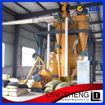 Widely used wholesale poultry feed production line/ animal fodder processing machine/wood pellet machine plant
