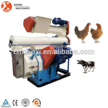 2017 hot sale CE approved Ring die cattle feed animal feed pellets machine