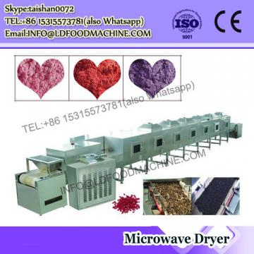 Microwave microwave sugar dryer