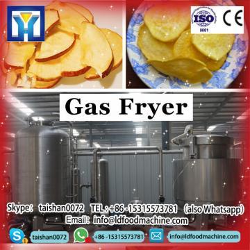 good quality natural gas deep fryer China (0086-13683717037)