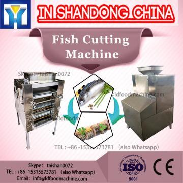 2017 China supply frozen fish cutting machine/popular fish skinner machine/automatic fish peeling cutting machine with low price
