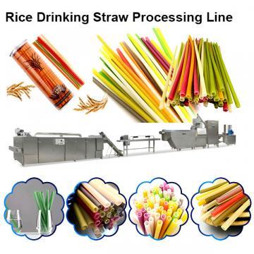 Eco Friendly and Edible Drinking Rice Straw Maker Machinery/production line