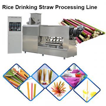 Ecological Drinking Straw Edible Straws Machine