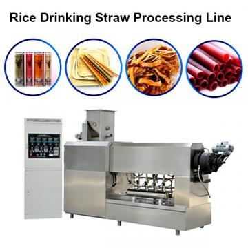 Rice Straw Production Line Green Food Disposable Rice Straw Processing Line Rice Straw Korea Screw Extruder Equipment