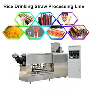 Tapioca straw / haustorial tube extruder machine / processing extruder