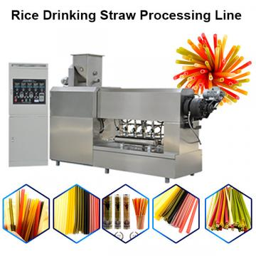 High Speed Full Automatic Biodegradable Drinking Straw Making Machine (70m/min)