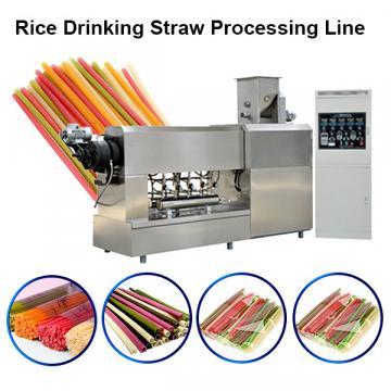 Industrial Baby Pasta Macaroni Rice Straw Extrusion Machine