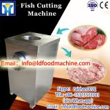 500kg/h stainless steel automatic feeding Frozen fish meat cutter frozen meat and bone cutting machine